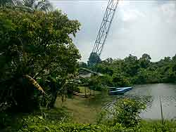 bungy jump in Thailand