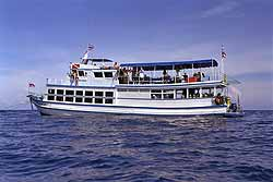 This is 1 of the dive ships that Lanta Divers have