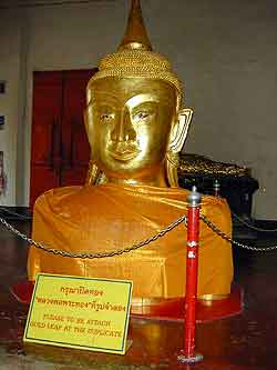 Wat Pra Tong, the golden buddha